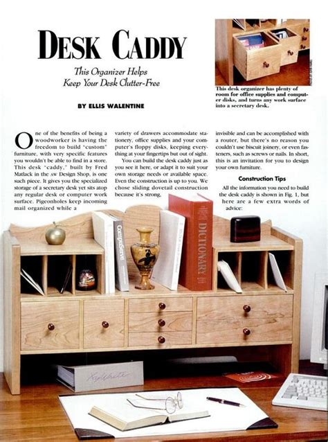 american woodworker back issues desk caddy desks and book on