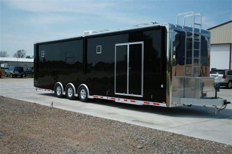 bathroom trailer for sale 34 jr dragster trailer with bathroom custom intech aluminum trailers for sale