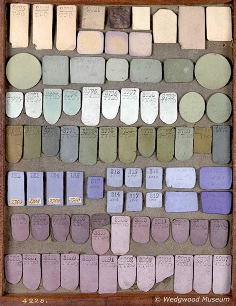 josiah wedgwood s jasperware color sles the palette colors