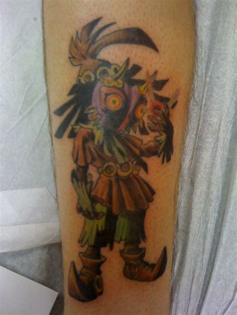 skull kid tattoo majora s mask skull kid legend of