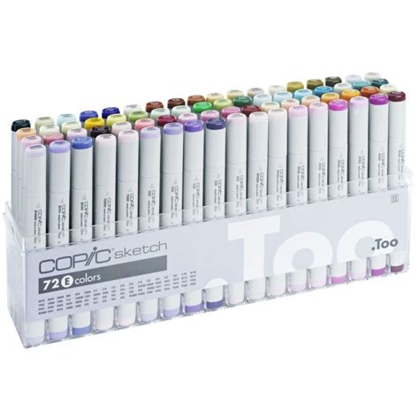 Copic Set 72 Sketch A copic sketch marker 72 set e sketching equipment from graff city ltd uk