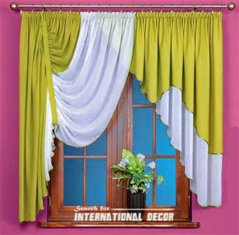 Green Kitchen Curtains Designs Best 25 Unique Curtains Ideas On Pinterest Window Curtain Designs Curtain Scarf Ideas And