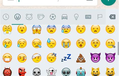 imagenes de emoji de whatsapp la 250 ltima versi 243 n de whatsapp ya est 225 en play store