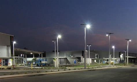 australia s largest solar lighting project gets go ahead