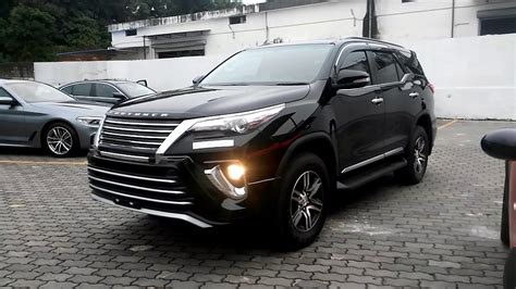 Fortuner Black modified fortuner 2017 model black