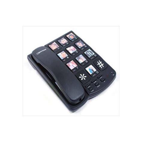 telefono ufficio telefono fisso senior tasti grandi simboli numeri anziani