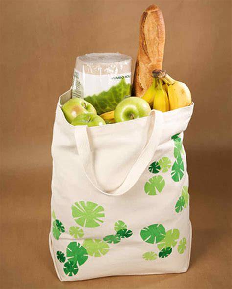 tote bag pattern martha stewart printed grocery tote martha stewart