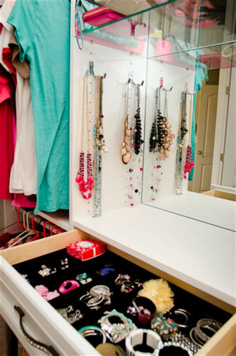 girly walk in closet transitional cincinnati by
