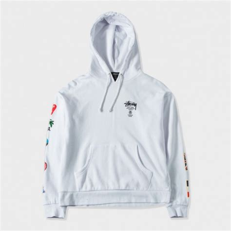 s hoodies st 252 ssy hoodies st 252 ssy wt flags white