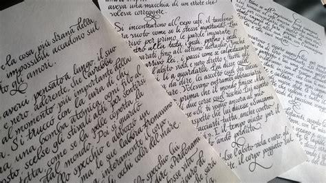 lettere corsivo inglese scrittura calligrafia archivi scrittura
