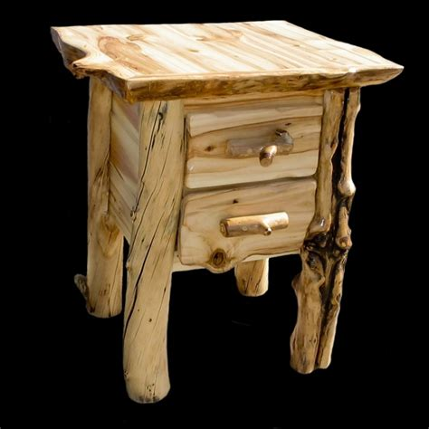 How To Make Picnic Bench by Making Log Furniture Log Furniture Guide