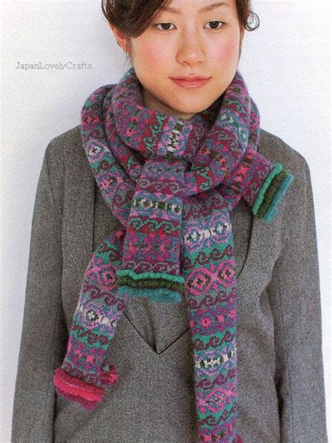 japanese knitting scarf pattern 17 best images about japanese knitting on pinterest knit