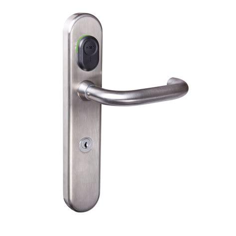 Electronic Door Knob Lock by Kaba Electronic Door Locks Readers Kaba C Lever