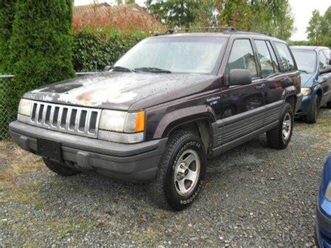 1993 Jeep Grand Laredo 1993 Jeep Grand 4dr Laredo 4wd Suv In Tacoma Wa