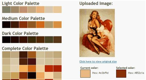 color palette generator from image create a colour palette from a single image lifehacker