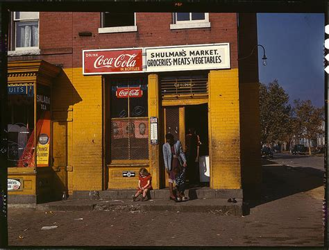 Shopamerica by Seeing Afresh Color Photos Of The Great Depression The