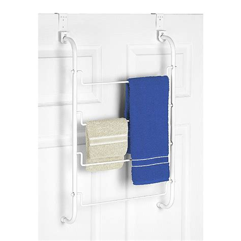 white bathroom towel racks over the door towel rack white in over the door towel racks