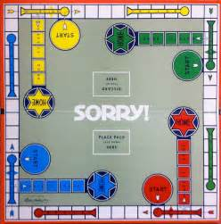 1972 sorry board game