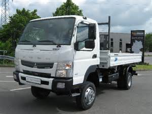 Mitsubishi Canter 4wd Mitsubishi Fuso Canter 6c18 4wd Tipper From Germany