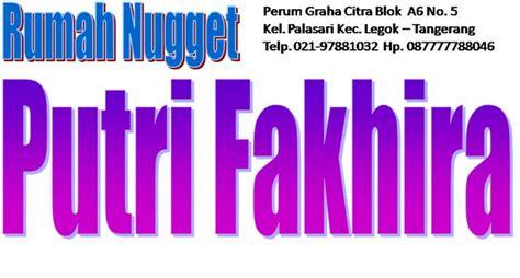 Stikie Chicken Nuget 250gr Gerai Nugget Putri Fakhira
