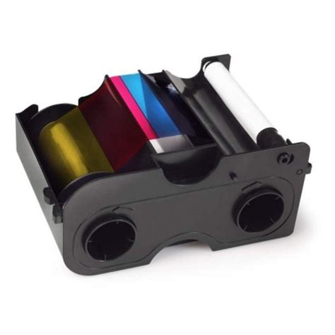 Ribbon Colour For Printer Dtc1250e Ymcko 45500 fargo 45500 ymcko ribbon cartridge