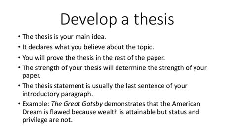thesis statement about themes in the great gatsby the great gatsby paper pathfinder