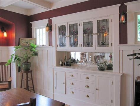 beautiful built  craftsman dining room built