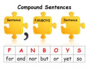 compound sentences scholastic com