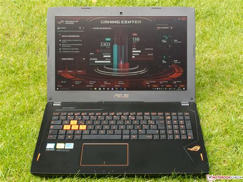 Laptop Asus Gl502vs asus rog strix gl502vs notebook review notebookcheck net