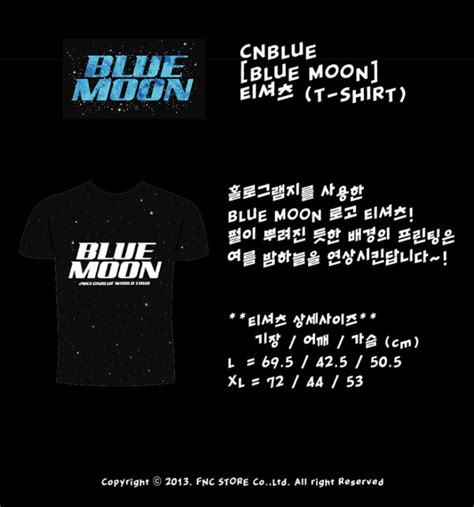 Cnblue Blue Moon Sign Poster all kpop stuff cn blue merchandise and albums