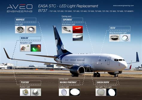 aircraft anti collision lights easa stc aveoengineering