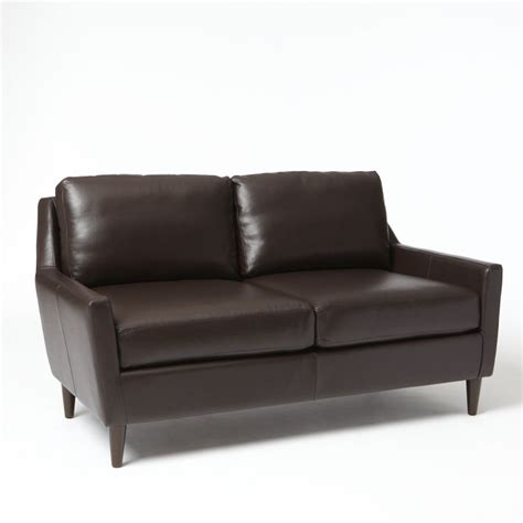 Leather Loveseat leather loveseats stick jam