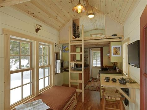 interior of small house ethan waldman s tiny house on wheels permit him to pursue his dream of travelling