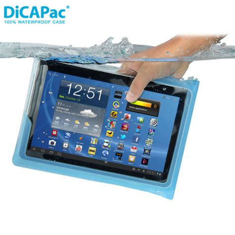 Watterproof Tablet dicapac universal waterproof for tablets up to 10 1