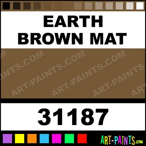 earth brown mat artist airbrush spray paints 31187 earth brown mat paint earth brown mat