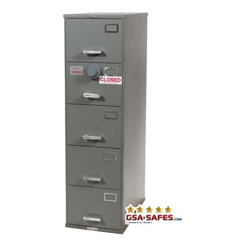 7110 00 919 9193   Class 6, 5 Drawer GSA Approved File