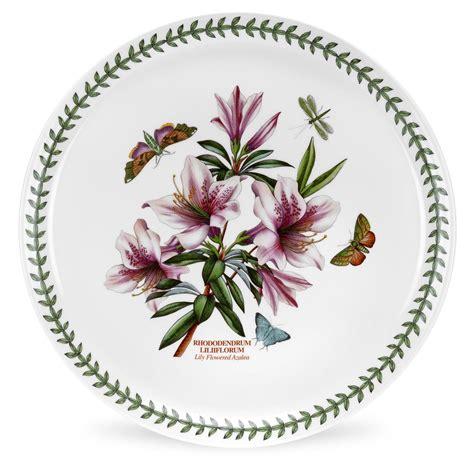 Botanic Garden Plates Portmeirion Botanic Garden Cake Pizza Plate Portmeirion Uk