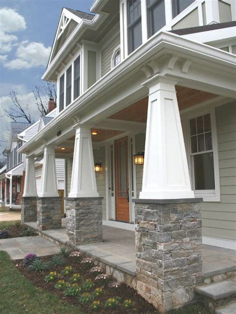 columns for homes front exterior columns and flooring dream home pinterest