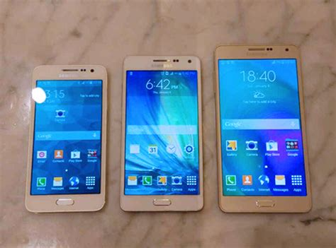 Samsung A5 A3 samsung sm a310 sm a510 and sm a710 samsung galaxy a3 a5 and a7 successors spotted on