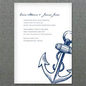 Nautical Wedding Invitation Template by Nautical Anchor Printable Invitation Template