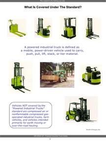 C Y Flooring by Power Industrial Truck Safety Training