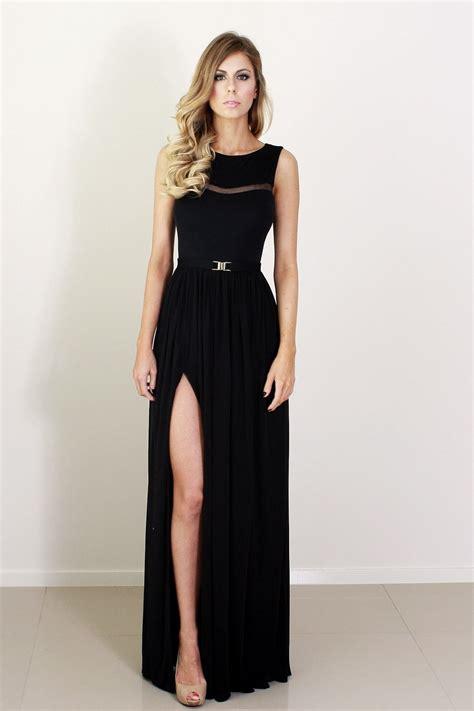 D973 Maxi Set Matt Dress 25 black bridesmaid dresses for your wedding