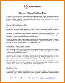 Report Format Essay by Doc Sle Business Report Writing Essay Sle Business Report Writing How To Start A