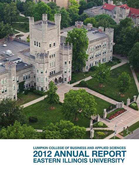 Eiu Mba Application by 2012 Lumpkin College Of Business And Applied Sciences