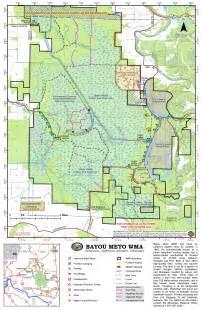 bayou meto map detailed map of bayou meto bayou meto