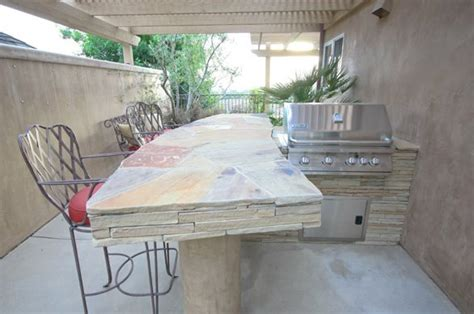Outdoor Bar Countertop Ideas by Outdoor Countertops Landscaping Network