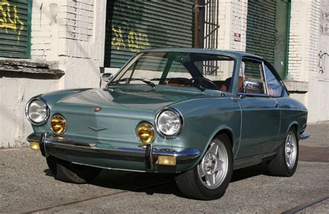 1971 fiat 850 sport coupe bring a trailer