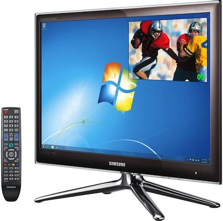 Tv Led Samsung 24 Inch Mei samsung fx2490hd 24 inch led lcd monitor hdtv ecoustics
