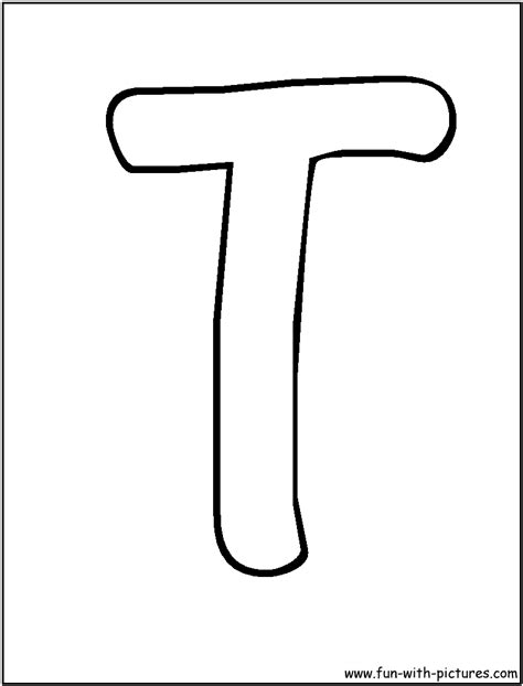 Letter T Coloring Page by Letter T Coloring Pages Letter T Coloring Pages