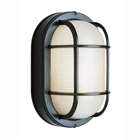 Bulkhead Lights Outdoor Bel Air Lighting Bulkhead 1 Light Outdoor Black Wall Or Ceiling Fixture With Frosted Glass 41015